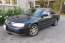Used 2002 Acura TL blue for sale in Pickering, ON