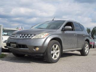 Used 2006 Nissan Murano SL AWD / LOCAL CAR for sale in Newmarket, ON