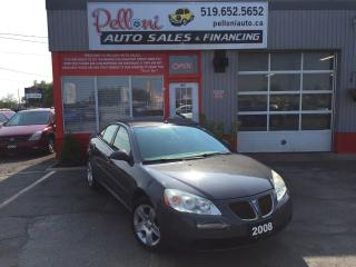 Used 2008 Pontiac G6 SE SALE PRICE!! for sale in London, ON
