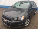 Used 2016 Chevrolet Sonic LT *HEATED SEATS-BLUETOOTH* for sale in Kitchener, ON