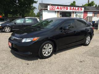 Used 2012 Honda Civic Automatic/Clean Carproof/Bluetooth/Certified for sale in Scarborough, ON
