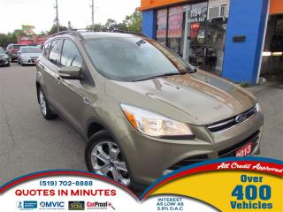 Used 2013 Ford Escape SEL | AWD | LEATHER | NAV | SAT RADIO for sale in London, ON