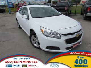 Used 2016 Chevrolet Malibu 1LT | BLUETOOTH | SAT RADIO for sale in London, ON