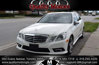 Used 2011 Mercedes-Benz E-Class E350 4MATIC for sale in Etobicoke, ON