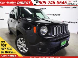 Used 2015 Jeep Renegade North| 4X4| BACK UP CAMERA| REMOTE START| for sale in Burlington, ON