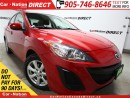 Used 2011 Mazda MAZDA3 GX| OPEN SUNDAYS| ONE PRICE INTEGRITY| for sale in Burlington, ON