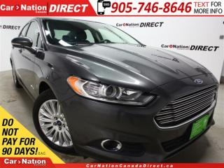Used 2016 Ford Fusion SE| LEATHER| BACK UP CAMERA| POWER SEATS| for sale in Burlington, ON