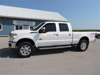 Used 2013 Ford F-350 Lariat,DIESEL,4X4,LEATHER,LOADED!! for sale in Gorrie, ON