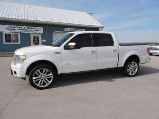 Used 2013 Ford F-150 Limited,LEATHER,NAVI,POWER EVERYTHING!! for sale in Gorrie, ON