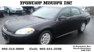 Used 2011 Chevrolet Impala Undercover Police Pkg 9C3 for sale in Hamilton, ON