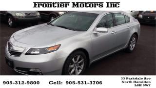 Used 2012 Acura TL for sale in Hamilton, ON