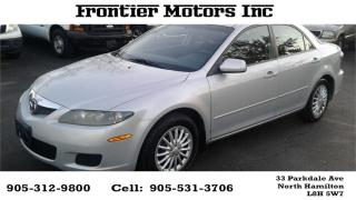 Used 2007 Mazda MAZDA6 GS for sale in Hamilton, ON