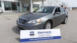 Used 2013 Chrysler 200 LX, Local Trade In, LOW LOW Kms! for sale in Stratford, ON