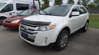 Used 2011 Ford Edge Limited 3.5L V6 Leather, Moon, Navi for sale in Stratford, ON