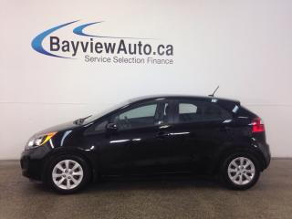 Used 2014 Kia Rio LX- 6 SPEED! A/C! HEATED SEATS! BLUETOOTH! CRUISE! for sale in Belleville, ON