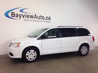 Used 2016 Dodge Grand Caravan SXT- ECO MODE! 3 ZONE CLIMATE! UCONNECT! CRUISE! for sale in Belleville, ON