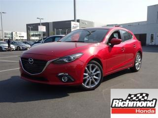 Used 2014 Mazda MAZDA3 GT-SKY!! Balance Of Factory Warranty! for sale in Richmond, BC