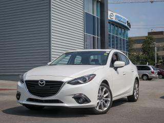 Used 2014 Mazda MAZDA3 GT NAVIGATION/ BOSE AUDIO/ INTELLIGENT KEY SYSTEM/ DUAL ZONE AUTO AIR CONTROL.... for sale in Scarborough, ON