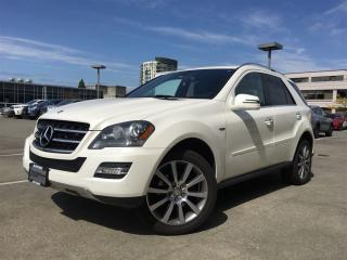 Used 2011 Mercedes-Benz ML-Class ML350 BlueTEC 4MATIC for sale in Vancouver, BC