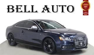 Used 2009 Audi S5 4.2L S-LINE LEATHER REARCAM for sale in North York, ON