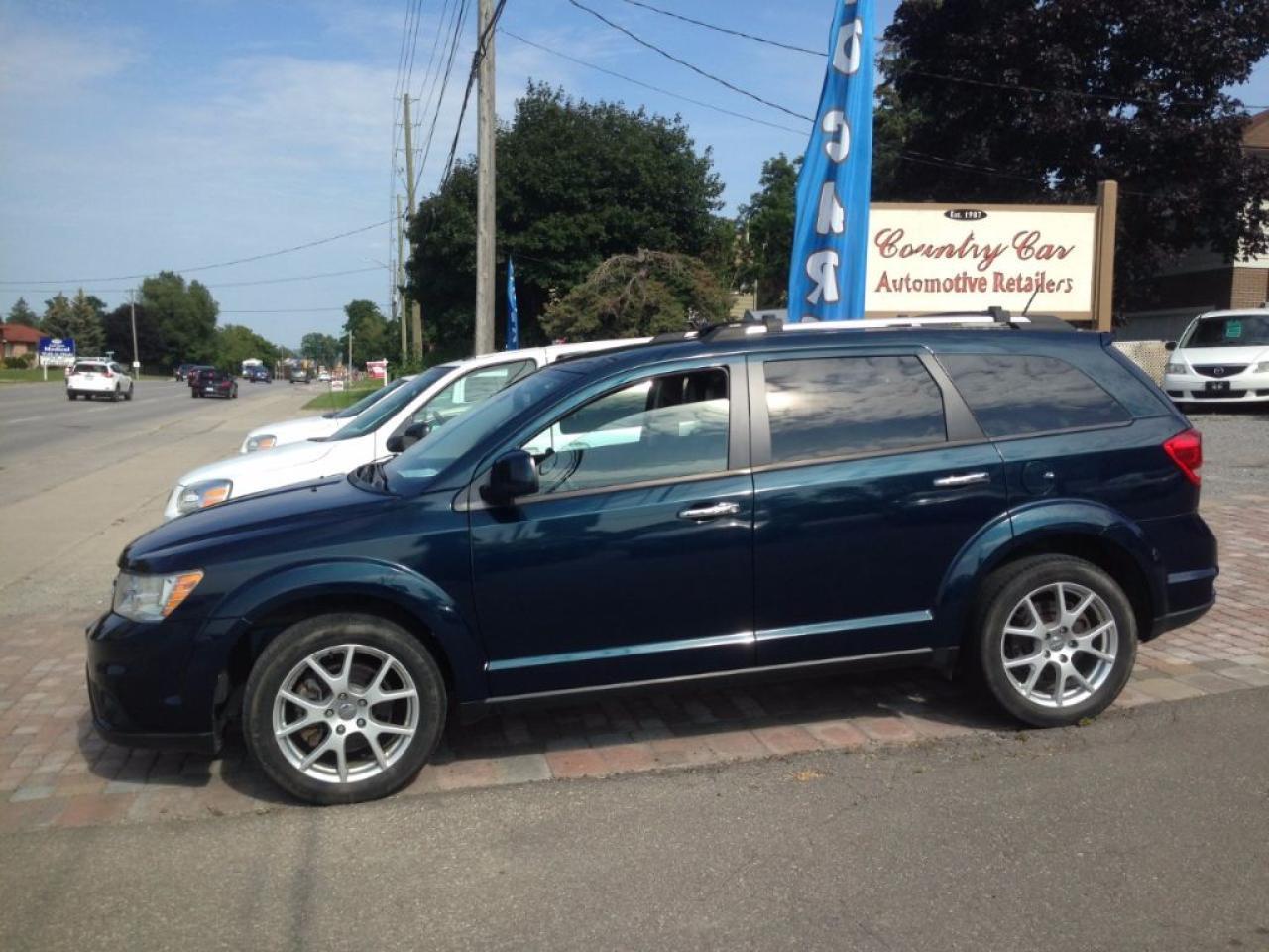 Photo of Blue 2014 Dodge Journey