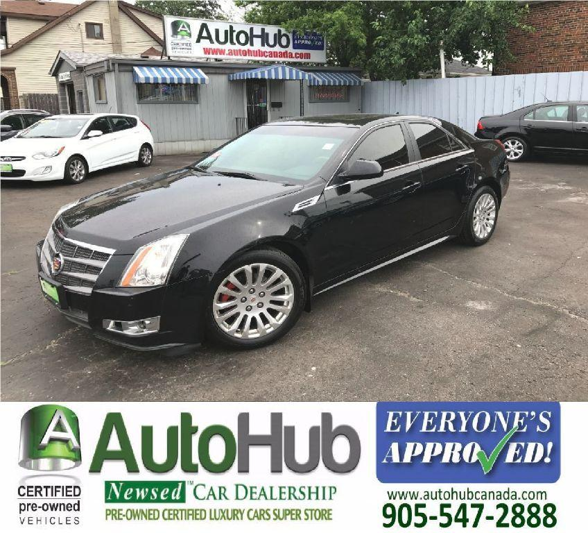 2010 Cadillac Cts For Sale: Used 2010 Cadillac CTS AWD-LEATHER-SUNROOF For Sale In Hamilton, Ontario