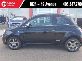 Used 2013 Fiat 500 Lounge for sale in Red Deer, AB
