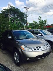Used 2004 Nissan Murano Pre-Owned Certified- Loaded AWD Sunroof Leather for sale in Scarborough, ON