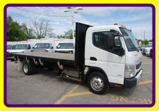 Used 2012 Mitsubishi Fuso FE 180 18 FT FLAT BED T.DIESEL,LOADED for sale in Woodbridge, ON