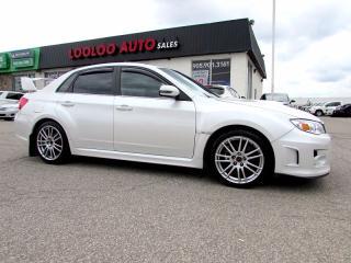 Used 2012 Subaru WRX STi Sport-tech Navigation Turbo 6 Speed Certified for sale in Milton, ON