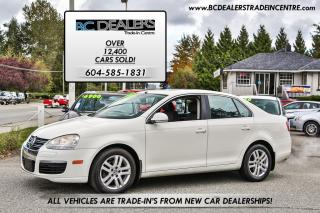 Used 2007 Volkswagen Jetta 2.5 Sedan, Automatic, Local + No Accidents, Clean! for sale in Surrey, BC
