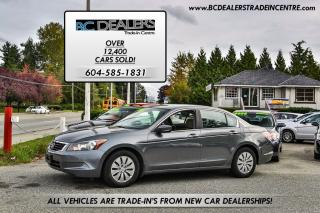Used 2008 Honda Accord LX Sedan, Local, No Accidents, Auto, PWR Group! for sale in Surrey, BC