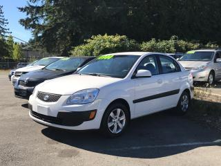 Used 2008 Kia Rio EX Convenience Pack, Local, No Accidents, Clean! for sale in Surrey, BC
