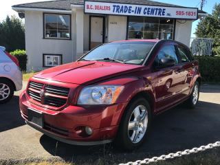 Used 2007 Dodge Caliber SXT, Power Group, No Accidents, Automatic, 2.0L! for sale in Surrey, BC