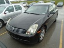 Used 2004 Infiniti G35 for sale in Innisfil, ON