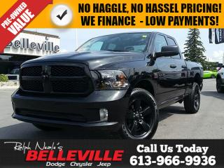 Used 2017 Dodge Ram 1500 Express-Hitch-Bluetooth-20Rims for sale in Belleville, ON