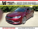 Used 2016 Chrysler 200 C|NAVIGATION|SUNROOF|LEATHER| for sale in Cambridge, ON