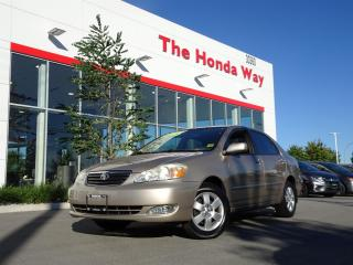 Used 2005 Toyota Corolla LE for sale in Abbotsford, BC