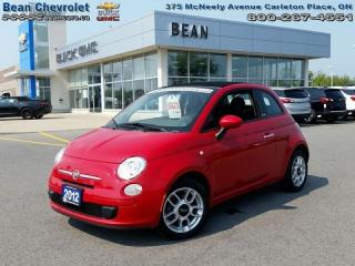 Used 2012 Fiat 500 C Pop for sale in Carleton Place, ON