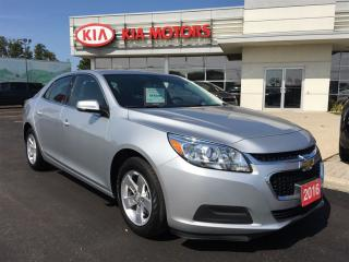 Used 2016 Chevrolet Malibu LT SPECIAL PURCHASE for sale in Woodstock, ON