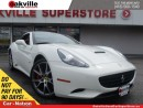 Used 2010 Ferrari California F1 | *RARE* | RED LEATHER | CONVERTIBLE | NAVI | for sale in Oakville, ON