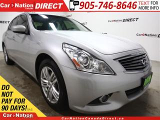 Used 2012 Infiniti G37 X Luxury| AWD| NAVI| SUNROOF| LEATHER| for sale in Burlington, ON