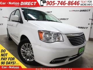 Used 2015 Chrysler Town & Country Touring-L| LEATHER| BACK UP CAMERA| for sale in Burlington, ON