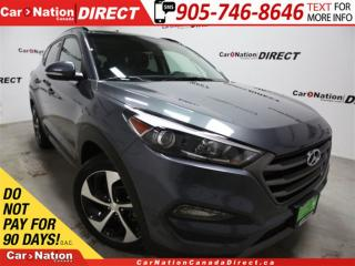 Used 2016 Hyundai Tucson Limited 1.6T| AWD| NAVI| LEATHER| PANO ROOF| for sale in Burlington, ON