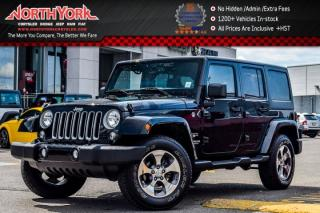 Used 2016 Jeep Wrangler Unlimited Sahara|4x4|Pwr Convi.Pkg|Hardtop|R_Start|Nav|18
