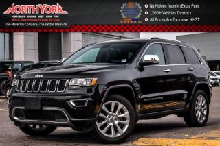 Used 2017 Jeep Grand Cherokee Limited |4x4|Nav|Sunroof|R-Start|HeatSeats|Leather|20