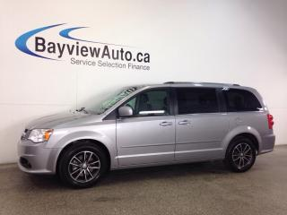Used 2017 Dodge Grand Caravan SE- STOW N GO! 3 ZONE CLIMATE! DVD! NAV! UCONNECT! for sale in Belleville, ON
