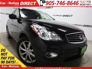 Used 2014 Infiniti QX50 Journey| AWD| SUNROOF| LEATHER| for sale in Burlington, ON