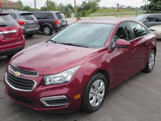 Used 2015 Chevrolet Cruze 1LT Remote start and back up camera! for sale in Brantford, ON