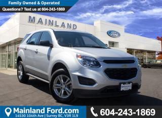 Used 2016 Chevrolet Equinox LS LOCAL, LOW KMS, NO ACCIDENTS for sale in Surrey, BC
